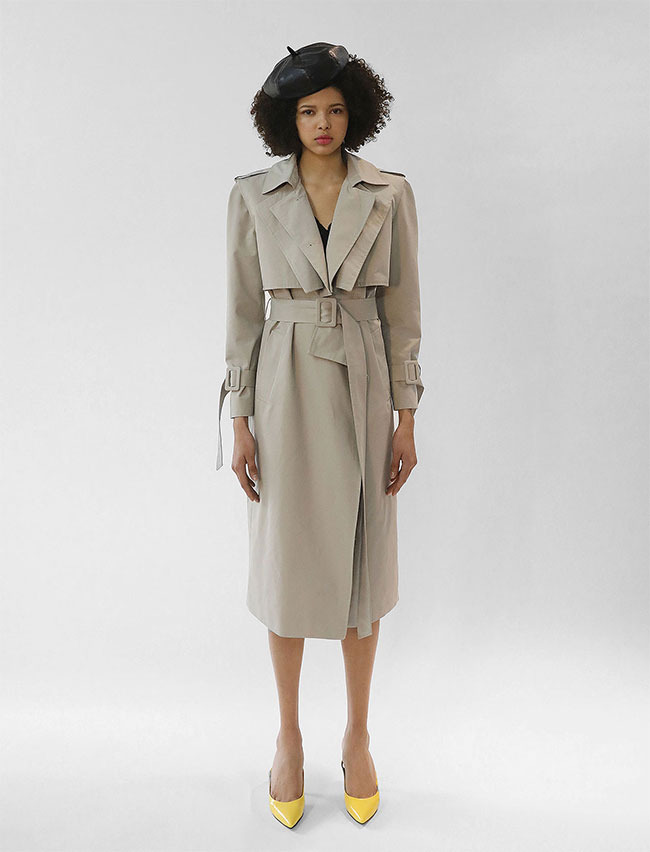 DUAL TRENCH COAT